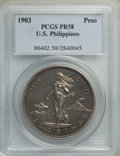 Philippines: USA Administration Proof Peso 1903 PR58 PCGS