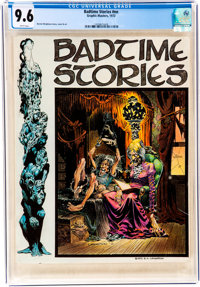 Badtime Stories #nn (Graphic Masters, 1972) CGC NM+ 9.6 White pages