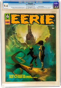 Eerie #27 Don Rosa Collection (Warren, 1970) CGC NM 9.4 Off-white to white pages