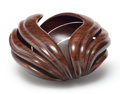 Carvings, William Hunter (American, b. 1947). Basket, 1991. Turned hardwood. 5-7/8 x 9-3/4 inches (14.9 x 24.8 cm). Etched to unde...