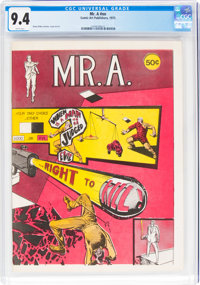 Mr. A. #nn (Comic Art Publishers, 1973) CGC NM 9.4 White pages