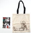 Collectible, KAWS X YSP. Two YSP Souvenirs, 2016. Set of five notebooks and one cloth sack. 8-1/4 x 5-3/4 x 1 inches (21 x 14.6 x 2.5... (Total: 2 Items)