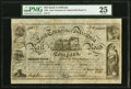 Obsoletes By State:Tennessee, Jonesborough, TN- East Tennessee & Virginia Rail Road, Co. $25 Stock Certificate October 4, 1852 PMG Very Fine 25.. ...