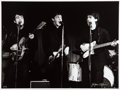 Music Memorabilia:Photos, The Beatles Photograph Top Ten Club by Jurgen Vollmer Signed and Numbered (Hamburg Germany,1961)....