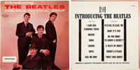 The Beatles Introducing... Rare Pink Cover Plus Promo Sticker Stereo (LP-1062, 1964)