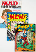 Magazines:Miscellaneous, Assorted Magazines Box Lot (Various Publishers, 1970s-90s) Condition: Average FN/VF....