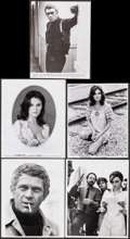 """Movie Posters:Crime, Bullitt (Warner Bros., 1968). Overall: Very Fine. Photos (19) & Behind-the-Scenes Photos (4) (Approx. 7"""" X 9.25 - 8"""" X10.25""""... (Total: 23 Items)"""