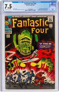 Fantastic Four #49 (Marvel, 1966) CGC VF- 7.5 Off-white to white pages