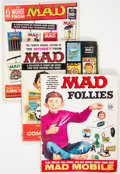 Magazines:Mad, MAD and Others Box Lot (Various, 1960s-70s) Condition: Average VG....