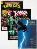 Modern Age (1980-Present):Miscellaneous, Modern Age Trade Paperbacks and Magazines Box Lot (Various Publishers, 1980s-90s) Condition: Average VF....