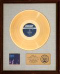 "Music Memorabilia:Awards, The Rolling Stones Aftermath 17 1/2"" x 21 1/2"" White Mat RIAA Gold Record Award (London PS-476, 1966). ..."