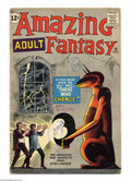 Silver Age (1956-1969):Mystery, Amazing Adult Fantasy #10 (Marvel, 1962) Condition: VG-. SteveDitko cover and art. Overstreet 2004 VG 4.0 value = $78....