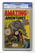 Silver Age (1956-1969):Horror, Amazing Adventures #1 (Marvel, 1961) CGC VG+ 4.5 Cream to off-whitepages. Origin and first appearance of Dr. Droom (superhe...