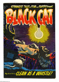 Golden Age (1938-1955):Horror, Black Cat Mystery #49 File Copy (Harvey, 1954) Condition: VF+. LeeElias cover. Bob Powell, Howard Nostrand, and Joe Certa a...