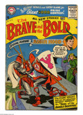 Silver Age (1956-1969):Adventure, The Brave and the Bold #7 (DC, 1956) Condition: VG. Irv Novick cover. Novick, Russ Heath, and Joe Kubert art. Overstreet 200...