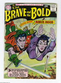 Silver Age (1956-1969):Adventure, The Brave and the Bold #14 (DC, 1957) Condition: VG-. Irv Novick cover. Novick, Russ Heath, and Joe Kubert art. White pages....
