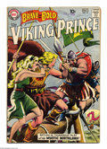 Silver Age (1956-1969):Adventure, The Brave and the Bold #23 (DC, 1959) Condition: VG+. First Viking Prince solo book, and first single theme issue of the tit...