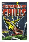 Golden Age (1938-1955):Horror, Chamber of Chills #17 (Harvey, 1953) Condition: VF+. Lee Eliascover. Howard Nostrand and Warren Kremer art. Overstreet 2004...