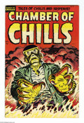 Golden Age (1938-1955):Horror, Chamber of Chills #25 File Copy (Harvey, 1954) Condition: VF. LeeElias cover. Elias, Bob Powell, and Manny Stallman art. Ov...