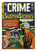 Golden Age (1938-1955):Crime, Crime SuspenStories #1 (EC, 1950) Condition: Apparent FN. JohnnyCraig cover. Craig, Wally Wood, Graham Ingels, and Harvey K...