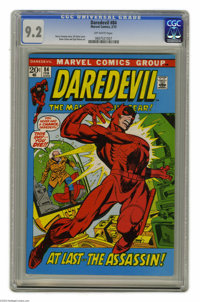 Daredevil #84 (Marvel, 1972) CGC NM- 9.2 Off-white pages. Gil Kane cover. Gene Colan and Syd Shores art. Overstreet 2004...
