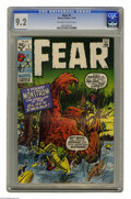 Bronze Age (1970-1979):Horror, Fear #1 (Marvel, 1970) CGC NM- 9.2 Off-white to white pages.Artists include Jack Kirby. Overstreet 2004 NM- 9.2 value = $50...