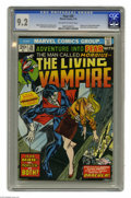 Bronze Age (1970-1979):Horror, Fear #20 (Marvel, 1974) CGC NM- 9.2 Off-white to white pages.Morbius series begins with this issue. Gil Kane cover. Paul Gu...