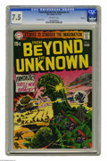 Silver Age (1956-1969):Science Fiction, From Beyond the Unknown #1 Oakland pedigree (DC, 1969) CGC VF- 7.5Off-white pages. Joe Kubert cover. Mike Sekowsky, Bob Oks...