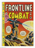 Golden Age (1938-1955):War, Frontline Combat #4 (EC, 1952) Condition: VG/FN. Harvey Kurtzman cover and art; contains the story Kurtzman rated as his fav...