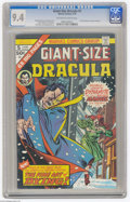 Bronze Age (1970-1979):Horror, Giant-Size Dracula #5 (Marvel, 1975) CGC NM 9.4 Off-white to whitepages. Gil Kane cover. Interior artists include John Byrn...