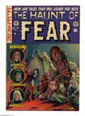 Golden Age (1938-1955):Horror, Haunt of Fear #14 (EC, 1952) Condition: VG/FN. Classic GrahamIngels cover. The Old Witch's origin story with Ingels art. Ot...