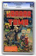 Golden Age (1938-1955):Horror, Horror From the Tomb #1 (Premier, 1954) CGC GD+ 2.5 Cream tooff-white pages. Here's one you don't see very often. This titl...