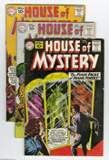 Silver Age (1956-1969):Mystery, House of Mystery Group (DC, 1961-64) Condition: Average VG. Thisgroup consists of 31 comics: #108-113, 115-120, 124-126, 12...(Total: 31 Comic Books Item)