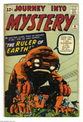 Silver Age (1956-1969):Horror, Journey Into Mystery #81 (Marvel, 1962) Condition: VG. Jack Kirbycover art. Dick Ayers, Steve Ditko, and Gene Colan interio...