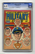 Golden Age (1938-1955):War, Military Comics #26 (Quality, 1944) CGC FN 6.0 Light tan tooff-white pages. Features include Blackhawk and Death Patrol. Ar...