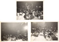 Music Memorabilia:Photos, The Beatles Black and White Live Concert Pictures (3) Taken During Their First US Concert (1964). ...