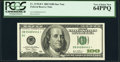 Small Size:Federal Reserve Notes, Fr. 2178-B* $100 2003 Federal Reserve Star Note. PCGS Very Choice New 64PPQ.. ...