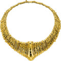 Estate Jewelry:Necklaces, Gold Necklace, Henry Dunay . ...