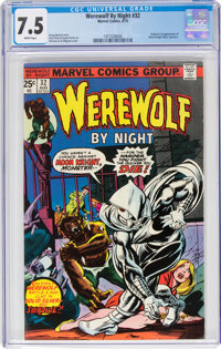 Werewolf by Night #32 (Marvel, 1975) CGC VF- 7.5 White pages