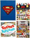 Books:Miscellaneous, Comics Related Books Group of 4 (Various Publishers, 1988-2014).... (Total: 4 Original Art)