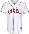 Baseball Collectibles:Uniforms, 1995 Gary DiSarcina All-Star Game Worn & Signed California Angels Jersey. ...