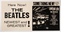 The Beatles Original Something New Linen Backed Promo Poster (Capitol Records, 1964)