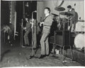 Music Memorabilia:Photos, The Beatles Large Format on Stage Live Performance Photo by Les Chadwick, Floral Hall (Southport, 1963).... (Total: 0 Items)