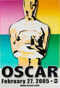 The Oscars Promo Poster From the Estate of Show Producer Gil Cates On Foam Board (2005)