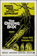 Movie Posters:Horror, The Oblong Box (American International, 1969). Folded, Fin...