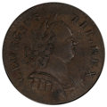 '1787' 1/2 P Machin's Mills Halfpenny AU55 PCGS. PCGS Population: (4/5 and 0/0+). NGC Census: (3/6 and 0/0+). CDN: $2,50...