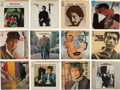 Music Memorabilia:Recordings, Bob Dylan Collection of Vinyl EPs from Japan (12).... (Total: 12 Items)
