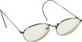 Music Memorabilia:Costumes, Jerry Garcia Owned Pair of Glasses With Case....