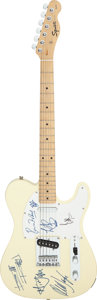 Musical Instruments:Electric Guitars, The Rolling Stones Signed Fender Squier Telecaster Copy Electric Guitar (Serial #CY00074717)....
