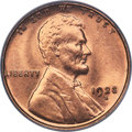 Lincoln Cents, 1923-S 1C MS65 Red PCGS. CAC....